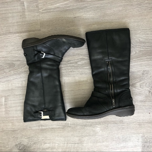 UGG Shoes - Black Knee-High UGG Boots